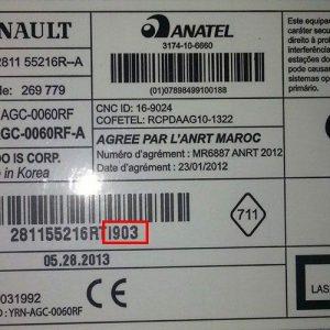 Renault magnetolos atkodavimas