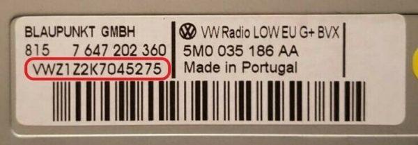 volkswagen 1 600x209 - Volkswagen magnetolos atkodavimas